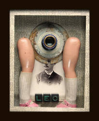 Mixed Media Assemblage 171 by GregPDX
