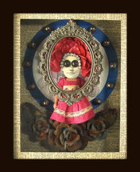 Mixed Media Assemblage 216 by GregPDX