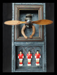 Mixed Media Assemblage 357 by GregPDX