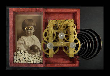 Mixed Media Assemblage 359 by GregPDX