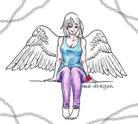 Little Angel by ma-dragon