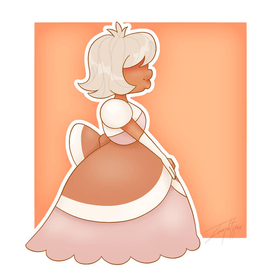 Tumblr: imaplatypus-art.tumblr.com/pos… Made on ibispaint x. Padparadscha belongs to cartoon network.