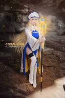 Priestess Cosplay (Goblin Slayer) by KleinerPixel