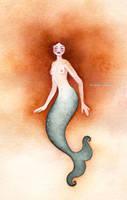 Sirene rousse by Neyrelle