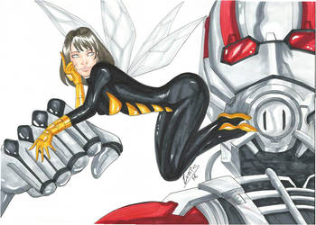 Wasp by Lewiscomicarts
