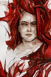 face detail by agnes-cecile