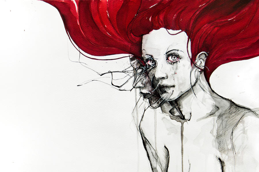 in the flesh by agnes-cecile