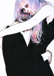 waiting place by agnes-cecile