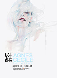 solo exhibition | agnes-cecile in milan by agnes-cecile