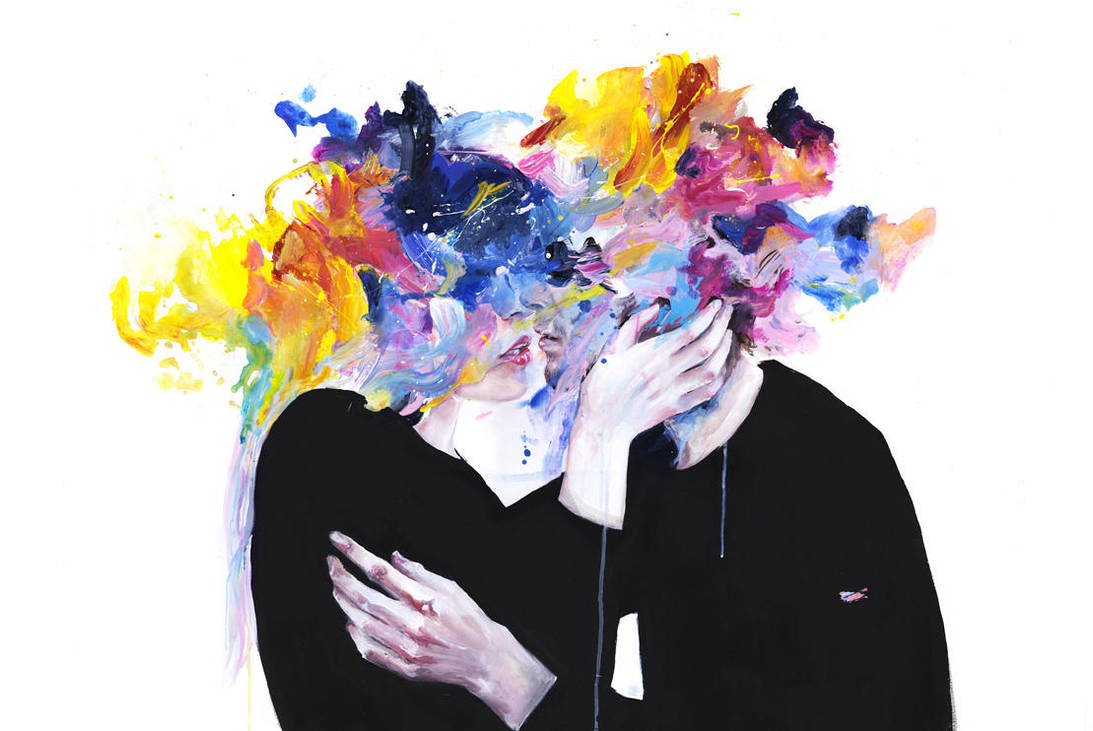 intimacy on display by agnes-cecile