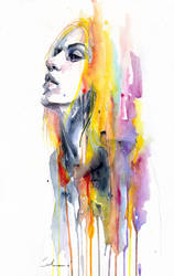 sunshower by agnes-cecile