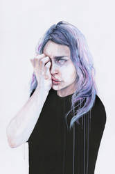 I could but I can't by agnes-cecile