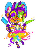 Party Favor MS Paint Candy Gore by VenusHound