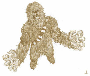 Whatta Wookie by kurocrash