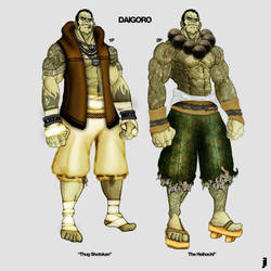 Daigoro Concept Art by kurocrash