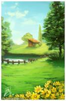 Landscape by borammy