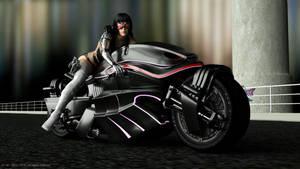 ClairObscur - SF-Biker by Digital-Beauty-Serie