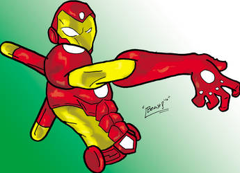 Ironman color test by thebeastart