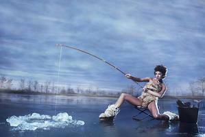 Ice Fishing by roadkill2k5