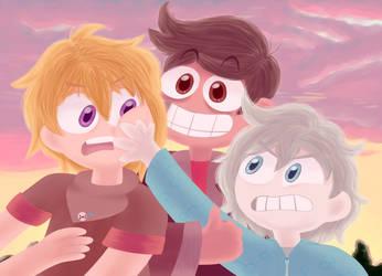 BEST FRIENDS FOR LYFE by ZyloBunny