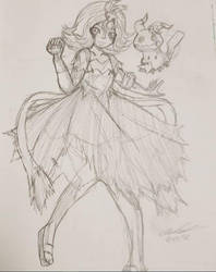 W.I.P Acerola by Mischief-Soul-Lover