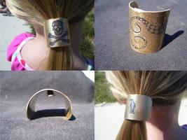 New ponytails cuffs by creativeetching