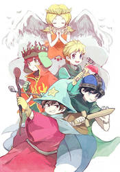 South Park RPG by yoyterra