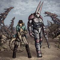 Steel Ball Run X Fallout 2 by Ermac23SS