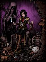 Darkest Dungeon X WataMote by Ermac23SS