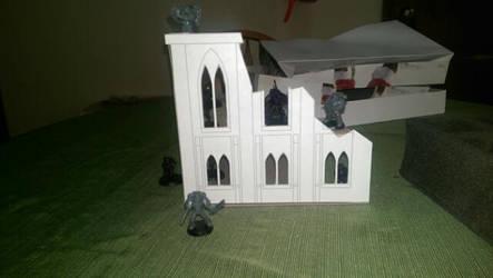 warhammer paper building by kevarin