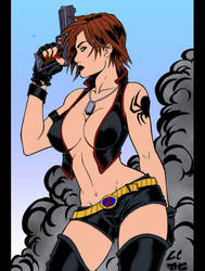 Black Widow by kevarin