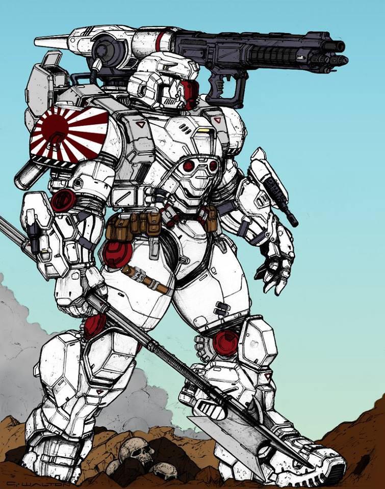 midas power armor by kevarin
