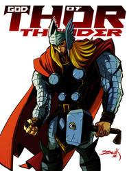 God of Thunder by R4Y