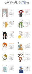 2011 calendar by vecchidifetti