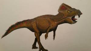 aquilops americanus by spinosaurus1