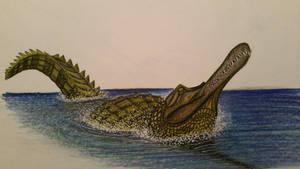 Rhamphosuchus crassidens by spinosaurus1