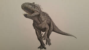 the indominus rex by spinosaurus1