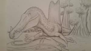 tasty snack by spinosaurus1