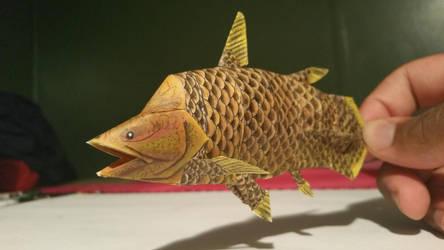 mawsonia paper model 3 by spinosaurus1