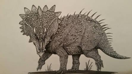 regaliceratops by spinosaurus1