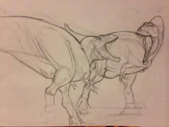 Acrocanthosaurus by spinosaurus1