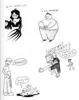 Left 4 Doodle by BlackFaceless