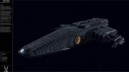 The Auryon Heavy Escort Destroyer. by JB1992