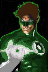 Hal Jordan by lilhawkeye