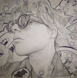 Gerard Way #ArtIsSmart by b3xy88