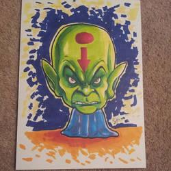 Alien Overlord by kevbrett