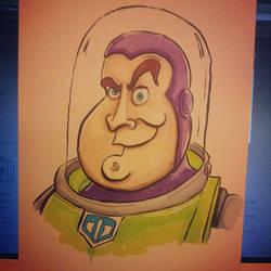 Buzz Lightyear by kevbrett