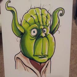 Yoda by kevbrett