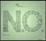No means. . . by Rauge
