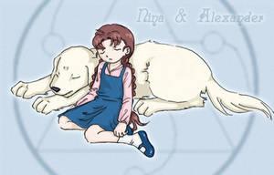 Nina and Alexander by solray-chan
